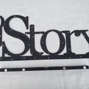 Embellish your story LARGE wall word and base